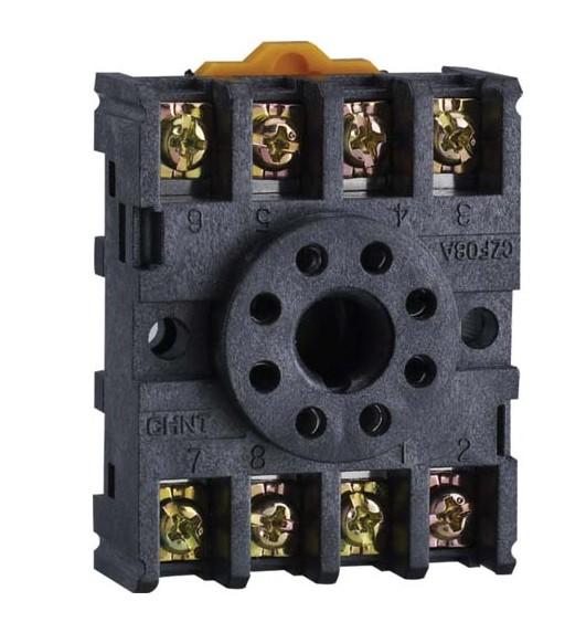 小型电磁继电器插座系列